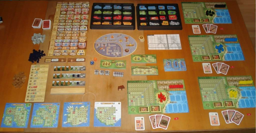 A Feast for Odin bordspel