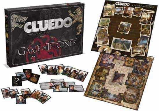 Cluedo Game of Thrones Bordspel