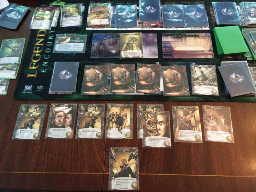 Legendary Encounters An Alien Deck Building Game