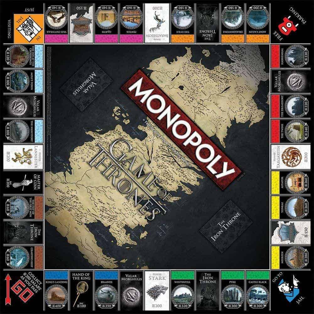 Monopoly Game of Thrones Bordspel