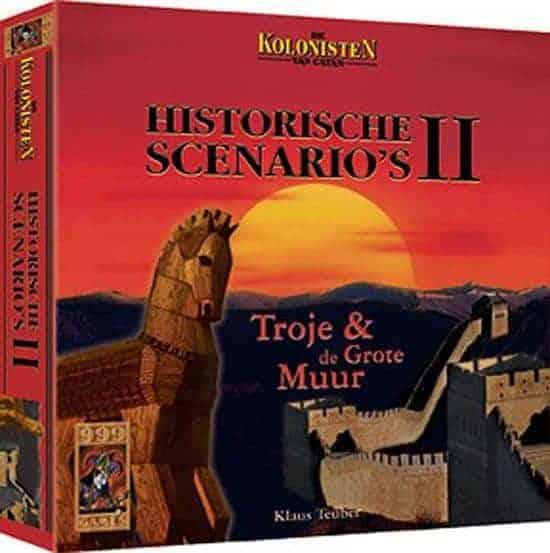 Kolonisten van Catan: Historische scenario's 2 - Troje en de grote muur