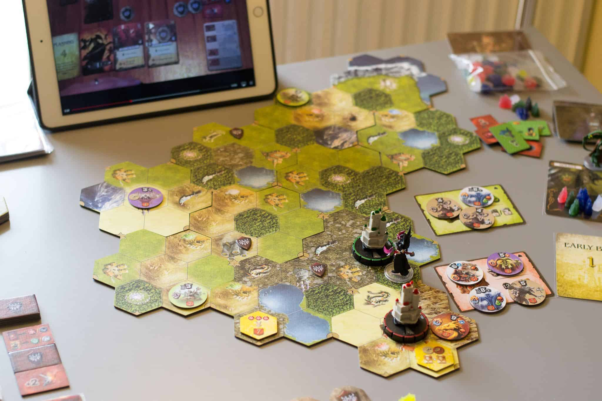 Mage Knight the Board Game
