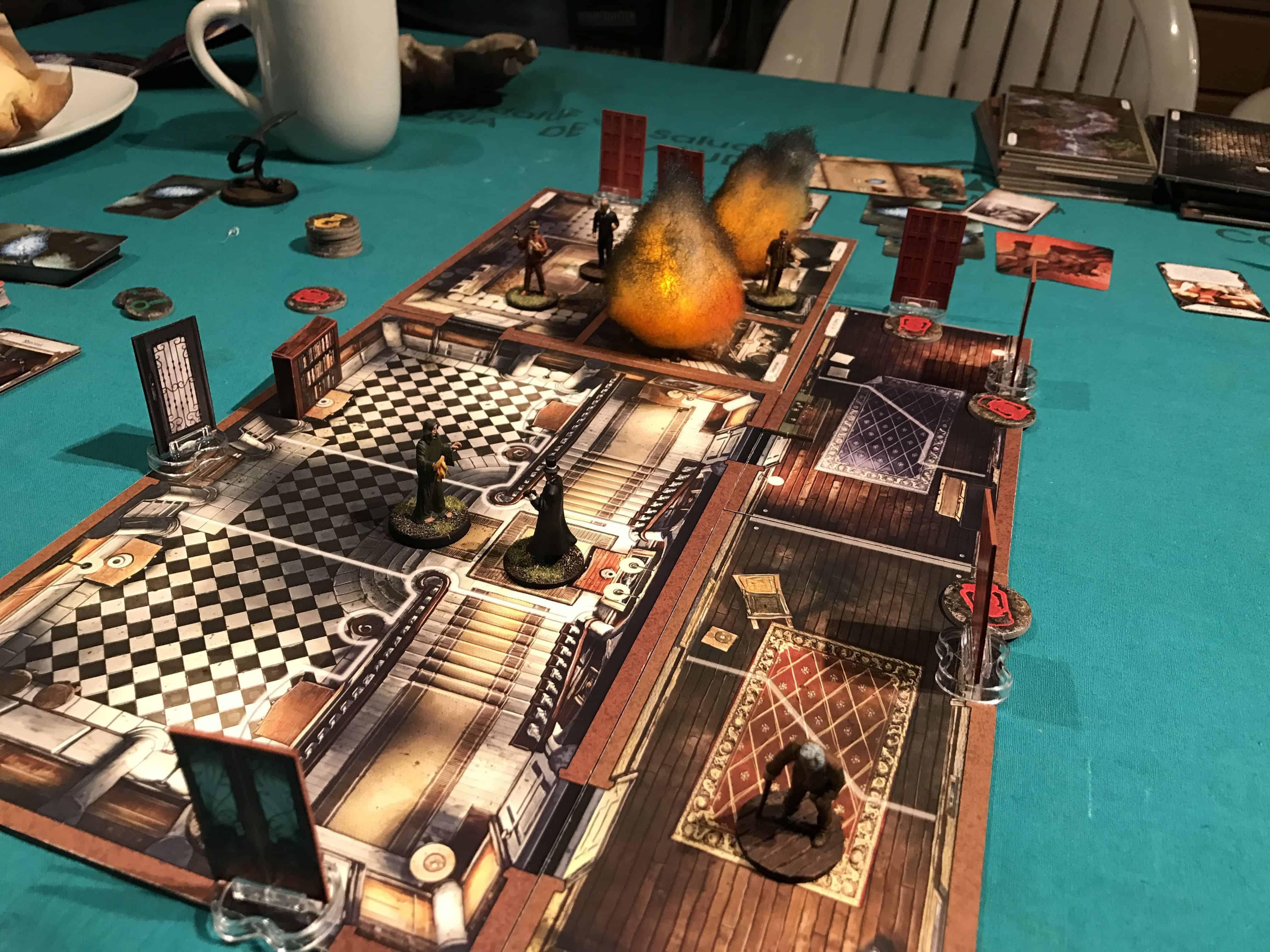 Mansions of Madness bordspel