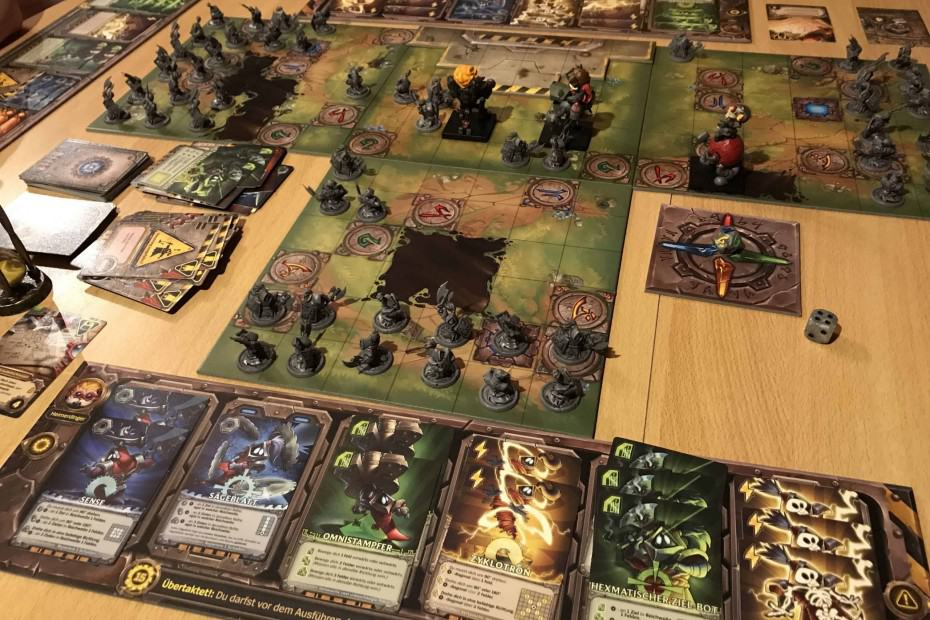 Mechs vs. Minions bordspel