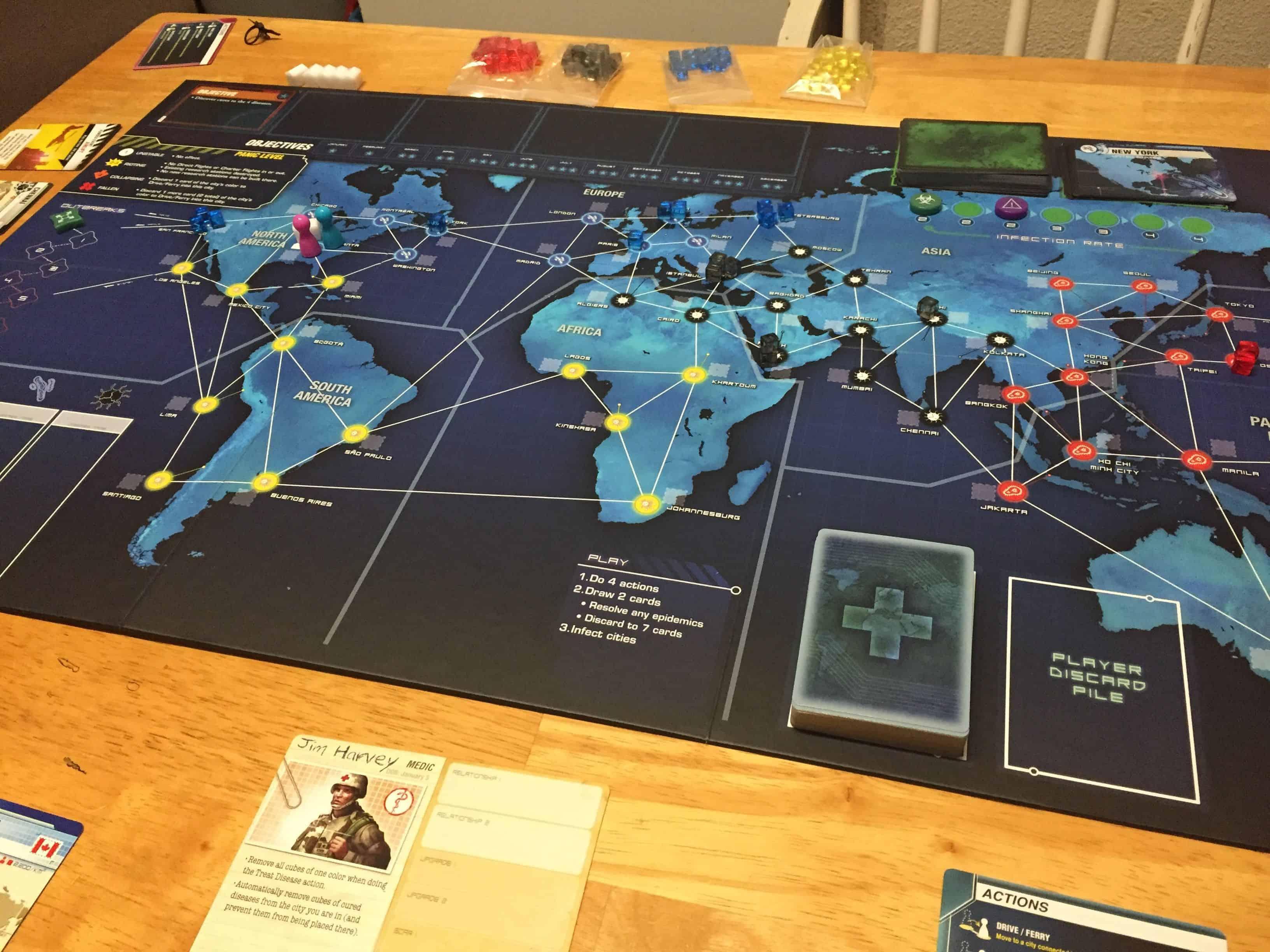 Pandemic Legacy- Season 1 board game