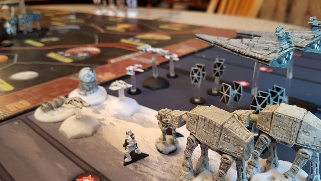 Star Wars - Rebellion board game
