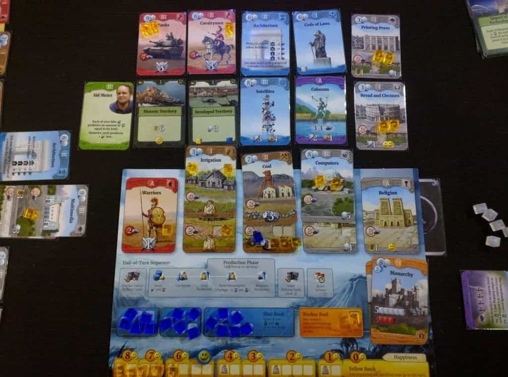 Through the ages- A New Story of Civilization board game