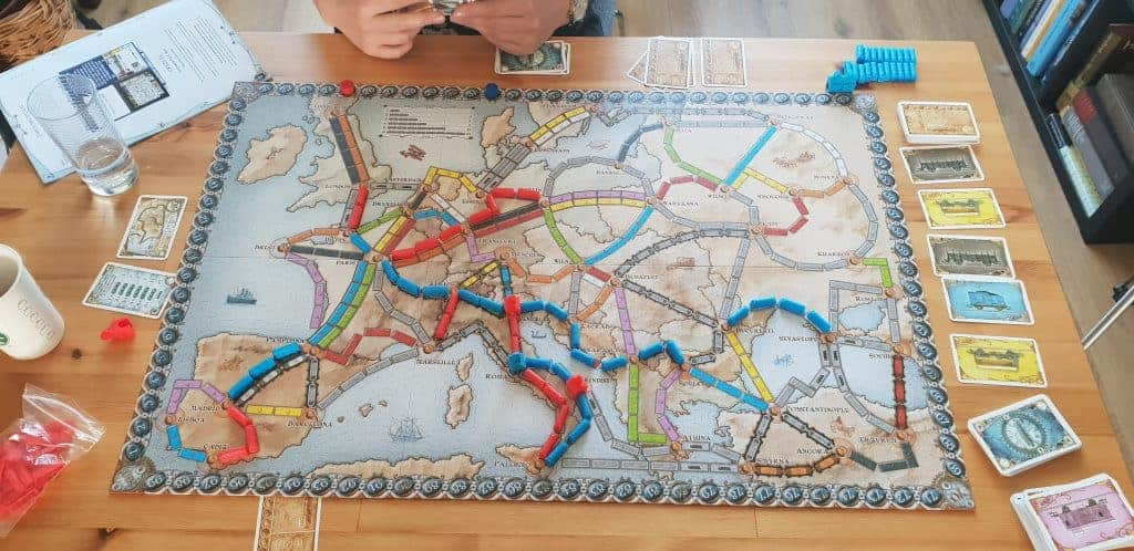 Ticket to ride leuk volwassenen bordspel