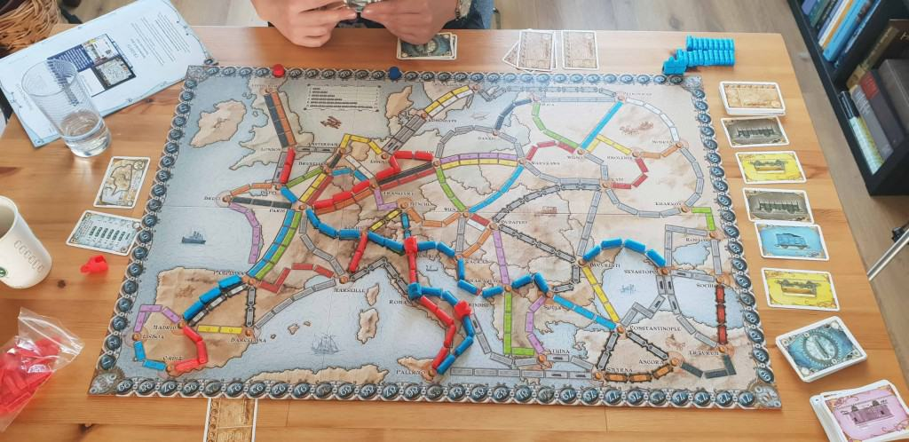 Ticket to ride bord