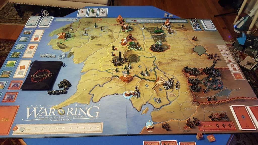 War of the Ring bordspel