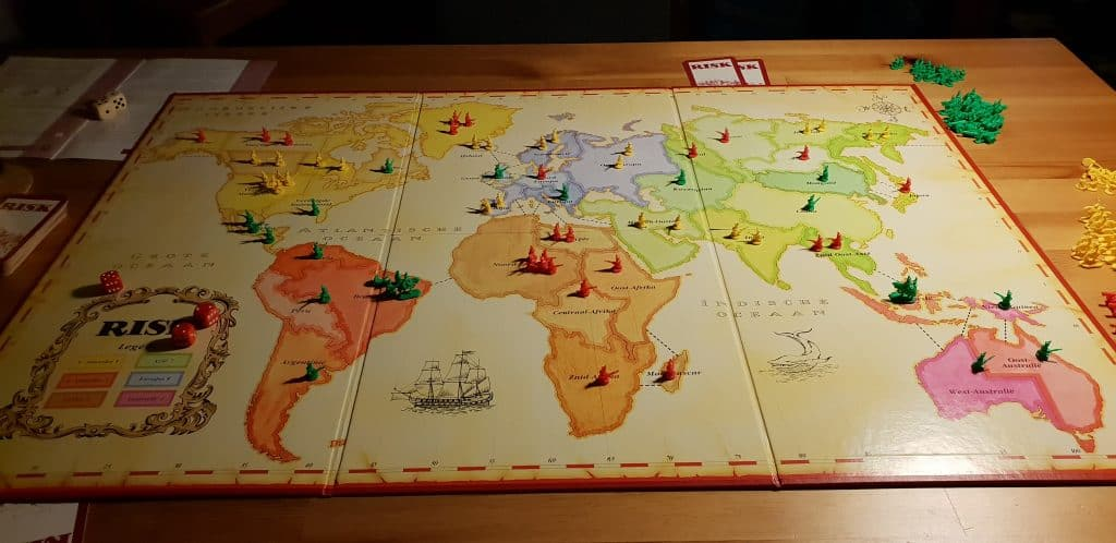 risk bordspel bord
