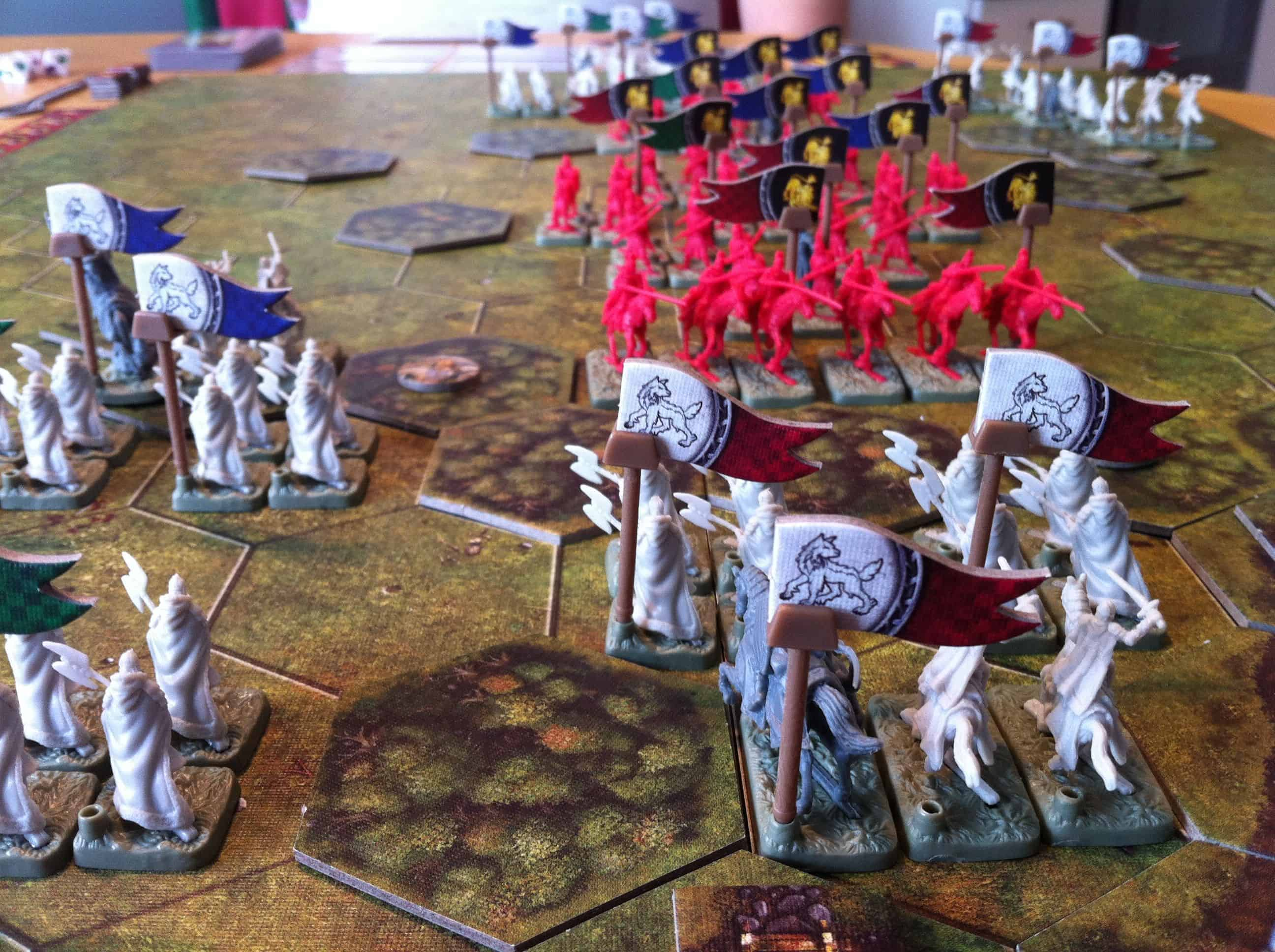 Battles of Westeros wargame