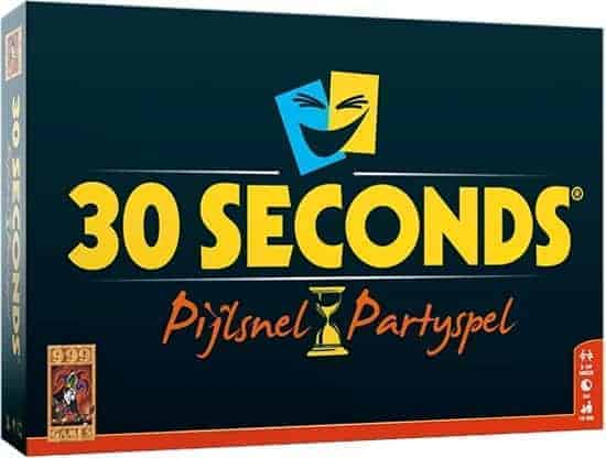 30 seconds Nederlands bordspel doos voorkant