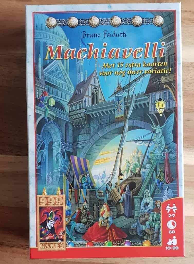 machiavelli leukste bordspel onder 15 euro