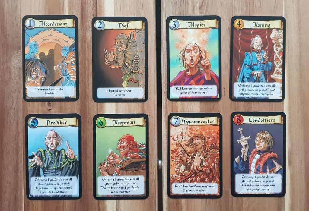 machiavelli karakterkaarten
