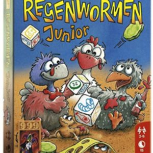 999Games - Regenwormen Junior - Dobbelspel