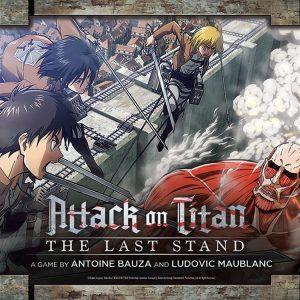 Attack on Titan: The Last Stand Bordspel (Engelse Versie)