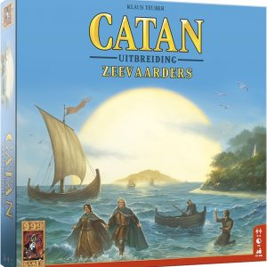 De Kolonisten van Catan Uitbreiding De Zeevaarders - Bordspel