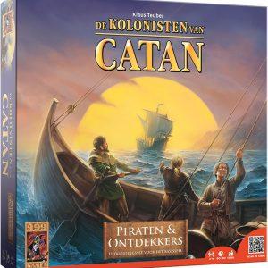 De Kolonisten van Catan Uitbreiding Piraten en Ontdekkers - Bordspel
