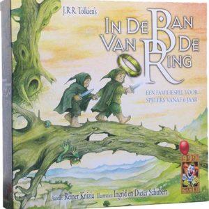 In de Ban van de Ring Familiespel - Bordspel