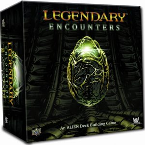 Legendary Encounters Deck Building Game: Alien Core