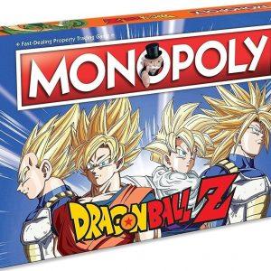 Monopoly Dragon Ball Z - Engelstalig Bordspel