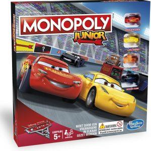 Monopoly Junior Cars 3 - Kinderspel