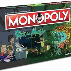 Monopoly Rick & Morty - Engelstalig Bordspel