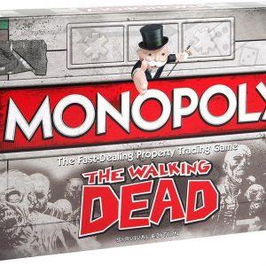 Monopoly Walking Dead - Engelstalig Bordspel