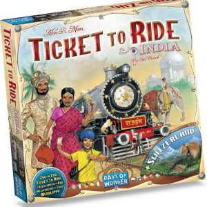 Ticket to Ride India/Zwitserland - Uitbreiding