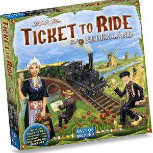 Ticket to Ride Nederland - Uitbreiding