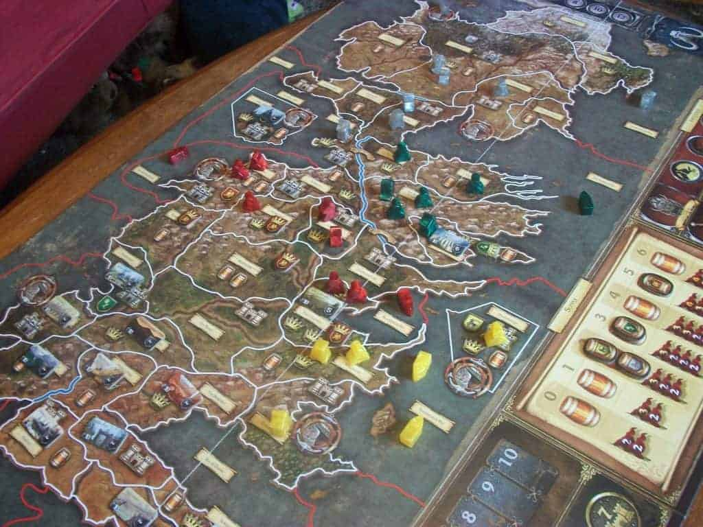 A game of thrones het bordspel A Feast For Crows uitbreiding