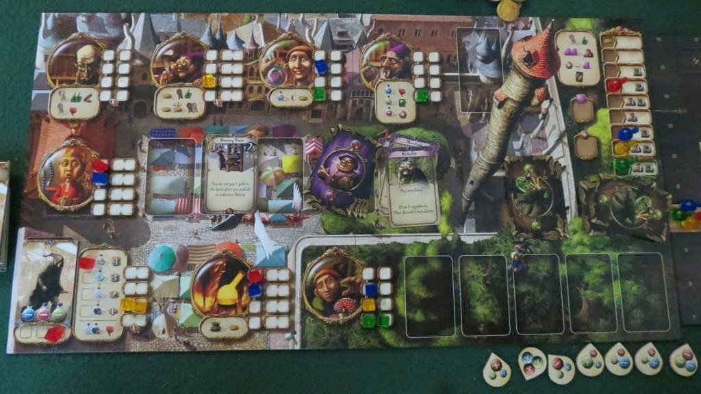 Alchemists bordspel