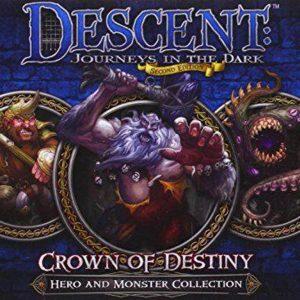 Descent Journeys in the Dark Crown of Destiny - Hero & Monster Collection - Uitbreiding - Bordspel