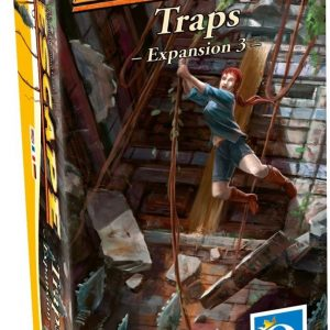 Escape Uitbreiding 3,Traps Queen G.10082 INT :: Queen Games