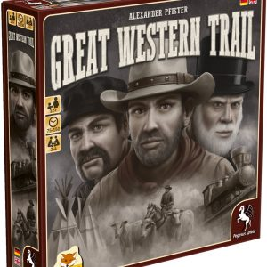 Great Western Trail Bordspel (Duitstalige Versie)