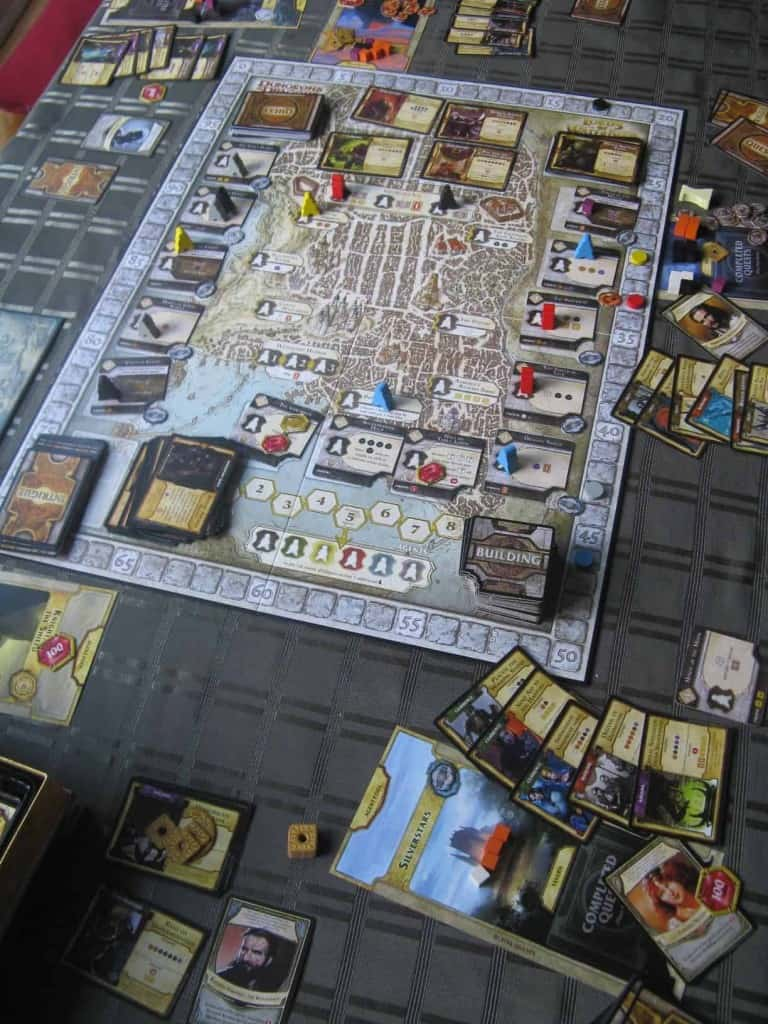 Lords of waterdeep The Scoundrels of Skullport uitbreiding