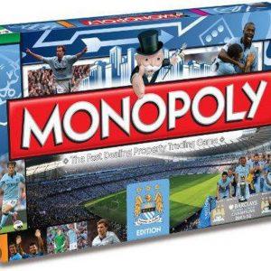 Manchester City Fc Monopoly Board Game - Bordspel