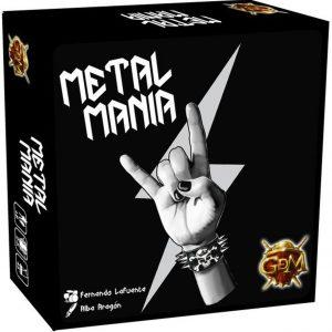Metal Mania Bordspel