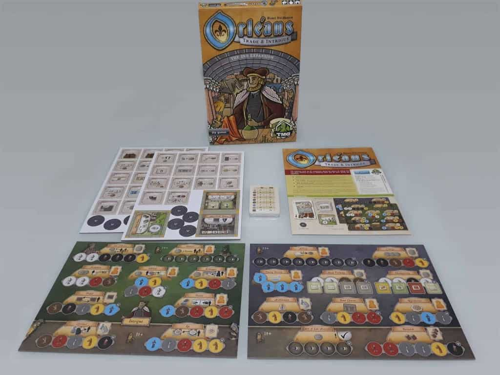 Orleans Trade and Intrigue uitbreiding