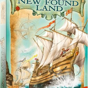 Race to the New Found Land Bordspel