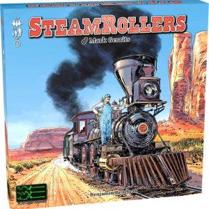 SteamRollers Bordspel