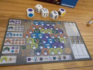The castles of burgundy dobbelspel
