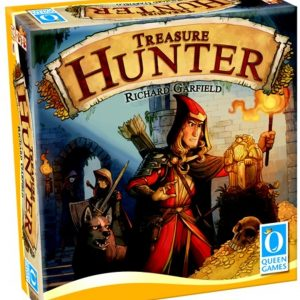Treasure Hunter, Bordspel Queen Games ENG