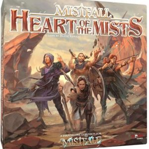 mistfall heart of the mists boardgame