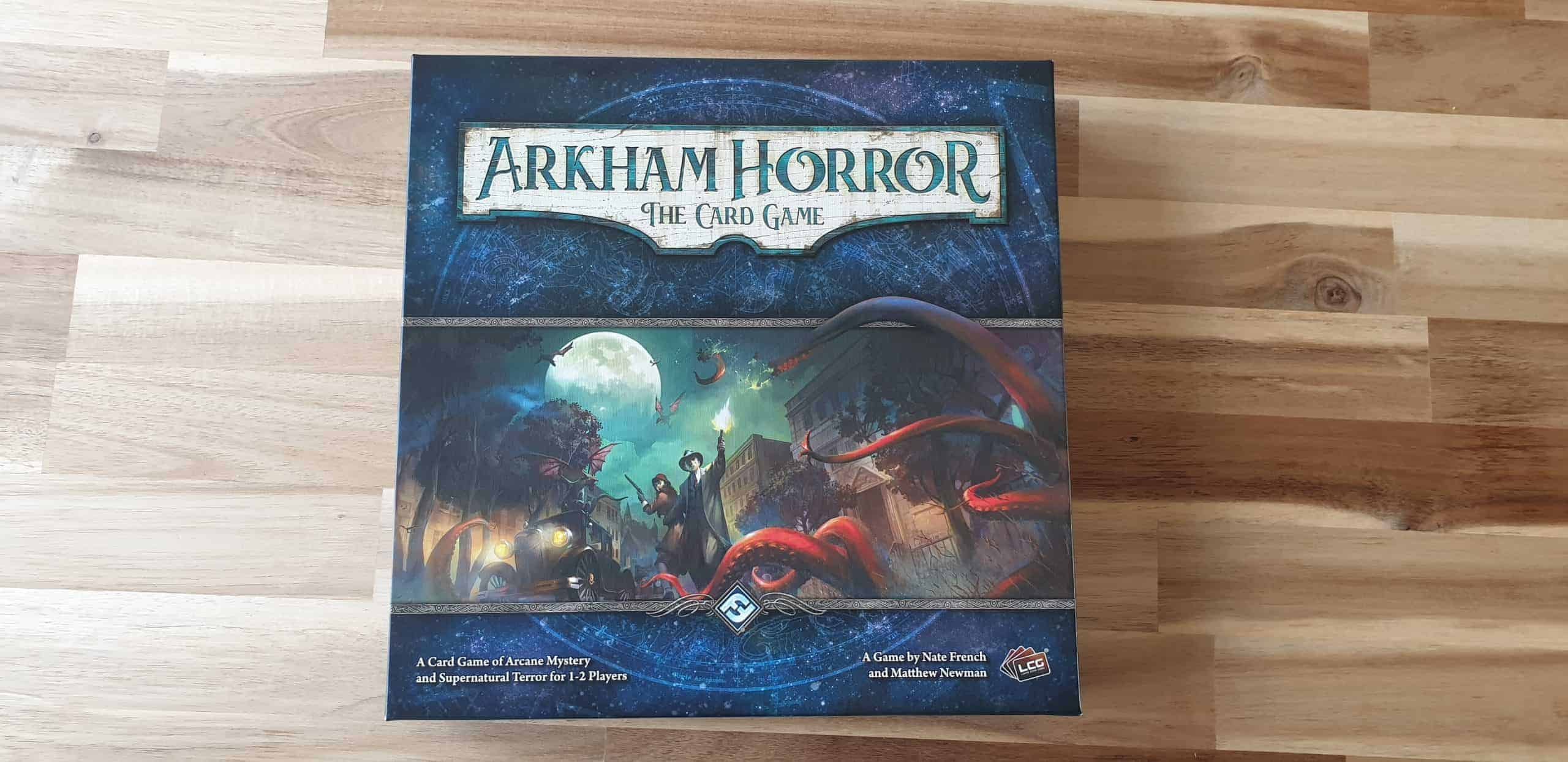 Arkham Horror the card game voorkant doos