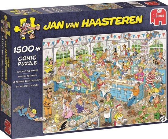 Jan van Haasteren Taarten Toernooi puzzel
