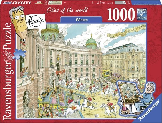 Ravensburger puzzel Fleroux Wenen