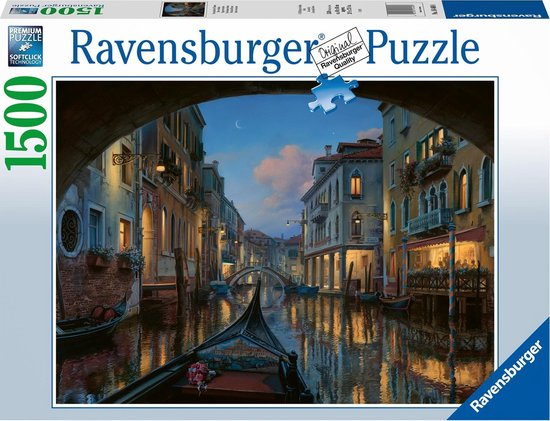 Ravensburger puzzel Venetiaanse droom