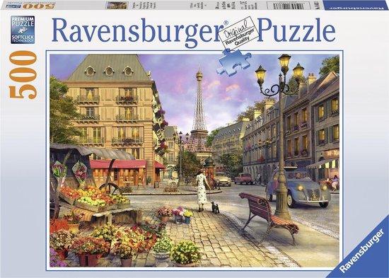 Ravensburger puzzel Wandeling door Parijs